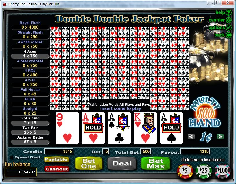 online casino poker jackpot online
